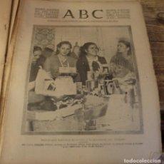 Militaria: ABC 30 DE DICIEMBRE DE 1937, SEVILLA,28 PAGINAS, BILBAO,HUELVA,GIJON,FRENTE DE TERUEL,ETC..... Lote 139941618