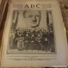 Militaria: ABC 21 DE DICIEMBRE DE 1937, SEVILLA,30 PAGINAS,ZARAGOZA, JEREZ, SEVILLA,,ETC.... Lote 139962550