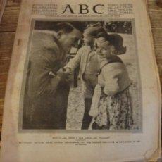 Militaria: ABC 14 DE DICIEMBRE DE 1937, SEVILLA,24 PAGINAS, HITLER, CACERES,CORDOBA, PARTE DE GUERRA,ETC... Lote 139968302