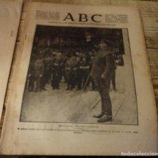 Militaria: ABC 3 DE OCTUBRE DE 1937, SEVILLA,23 PAGINAS, COVADONGA,FRENTE ASTURIAS,LEON,ESPIEL,ETC.. Lote 140022650