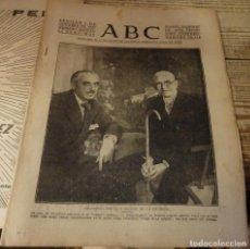 Militaria: ABC 7 DE OCTUBRE DE 1937, ,22 PAGINAS, PEMAN Y FALLA,FRENTE ASTURIAS,ESQUELA TIRADOR IFNI CORDOBA. Lote 140023906