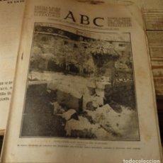 Militaria: ABC 11 DE SEPTIEMBRE DE 1937, ,22 PAGINAS,BALNEARIO DE CORCONTE,EJERCITO DEL NORTE, ETC.. Lote 140067818