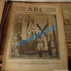 Militaria: ABC 11 DE SEPTIEMBRE DE 1938, ,26 PAGINAS,PORTADA REQUETES,CARLISMO,CORDOBA,PUERTO SANTA MARIA, ETC.. Lote 140079450