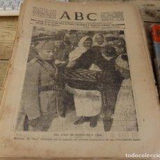 Militaria: ABC 11 DE ABRIL DE 1937, ,20 PAGINAS,PEÑARROYA, FRENTE DE MADRID,PARTE DE GUERRA, ETC.. Lote 140224626