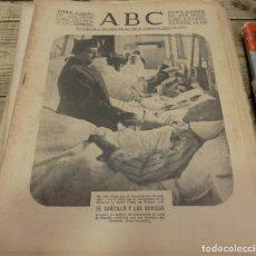 Militaria: ABC 9 DE MARZO DE 1938,18 PAGINAS,FRANCO CON LOS HERIDOS,PARTE DE GUERRA , ETC.. Lote 140245818