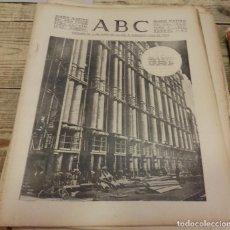 Militaria: ABC 11 DE FEBRERO DE 1938, SEVILLA,22 PAGINAS,SECTOR DEL ALFAMBRA, TERUEL,PARTE DE GUERRA, ETC... Lote 140290246