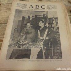 Militaria: ABC 24 DE MARZO DE 1938, SEVILLA,18 PAGINAS,PARTE DE GUERRA, ETC.. Lote 140293922
