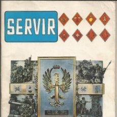 Militaria: SERVIR - REVISTA DEL C.I.R. Nº 1 - COLMENAR VIEJO - SEGUNDO LLAMAMIENTO REEMPLAZO 1977 . Lote 140661706