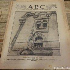 Militaria: ABC 22 DE SEPTIEMBRE DE 1937, 22 PAGINAS,SANTANDER LIBERADA,CORDOBA, PARTE DE GUERRA,,ETC. Lote 140782402