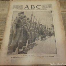 Militaria: ABC 21 DE SEPTIEMBRE DE 1937, 22 PAGINAS,FLECHAS EN BERLIN, FRENTE DE ASTURIAS, CORDOBA,,ETC. Lote 140782966