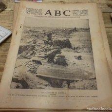 Militaria: ABC 6 DE AGOSTO DE 1937, 22 PAGINAS,BRUNETE,ALBARRACIN, CORDOBA,,ETC. Lote 140967290