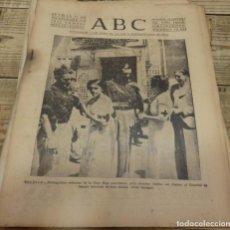 Militaria: ABC 13 DE NOVIEMBRE DE 1936, 14 PAGINAS, TRUJILLO,FRENTE DE MADRID,PARTE DE GUERRA,ETC. Lote 141007562