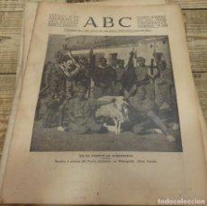 Militaria: ABC 12 DE NOVIEMBRE DE 1936, 16 PAGINAS, ROBREGORDO,FRENTE DE MADRID,PARTE DE GUERRA,ETC. Lote 141008110