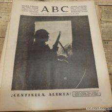 Militaria: ABC 13 DE FEBRERO DE 1938, 30 PAGINAS, CENTINELA ALERTA, AVIACION,SECTOR DE LA SERENA,ETC. Lote 141108534
