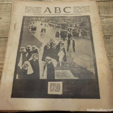 Militaria: ABC 25 DE FEBRERO DE 1938, 26 PAGINAS, BILBAO,FRENTE DE TERUEL,CORDOBA,MIGUEL FLETA,ETC. Lote 141110650