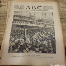 Militaria: ABC 16 DE SEPTIEMBRE DE 1937, 22 PAGINAS, CADIZ,AVIACION,FRENTE ASTURIAS,LEON,CORDOBA,ETC. Lote 141128150