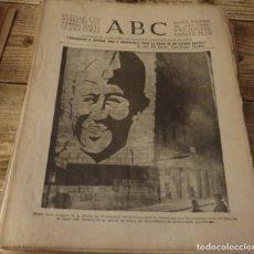Militaria: ABC 3 DE MARZO DE 1937, 18 PAGINAS, ORENSE,PARTE DE GUERRA,ORJIVA, ETC. Lote 141175086