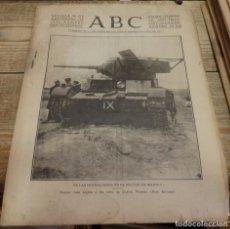 Militaria: ABC 26 DE NOVIEMBRE DE 1936, 14 PAGINAS,CUATRO VIENTOS,AZNALCOLLAR,PARTE DE GUERRA, ETC. Lote 141686818