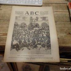 Militaria: ABC 30 DE JULIO DE 1937, 22 PAGINAS,CADIZ,OBEJO,CORDOBA,PARTE DE GUERRA,ETC. Lote 141810774
