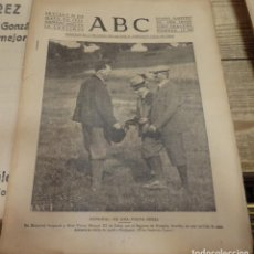 Militaria: ABC 30 DE MAYO DE 1937, SEVILLA,20 PAGINAS,FRENTE DE VIZCAYA,PARTE DE GUERRA, ETC... Lote 141882662