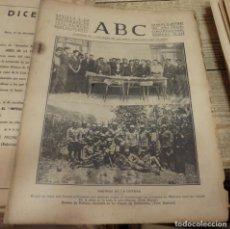 Militaria: ABC 2 DE DICIEMBRE DE 1936, SEVILLA,15 PAGINAS,MALLORCA,SOMOSIERRA,VILLAHARTA,PARTE DE GUERRA, ETC... Lote 141892522