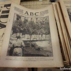 Militaria: ABC 7 DE SEPTIEMBRE DE 1937, SEVILLA,22 PAGINAS,REINOSA,LLANES,POTES,BERMEO,PARTE DE GUERRA. Lote 141901314
