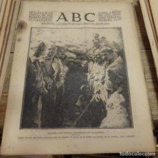 Militaria: ABC 20 DE AGOSTO DE 1937, SEVILLA,22 PAGINAS,LA VEGA DE PAS, SANTANDER,FRENTE DE CORDOBA,PARTE DE GU. Lote 141934726