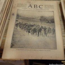 Militaria: ABC 17 DE OCTUBRE DE 1936, SEVILLA,17 PAGINAS,SAN MARTIN DE VALDEIGLESIAS,CORDOBA,ALDEA DEL FRESNO,P. Lote 141942862