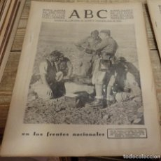 Militaria: ABC 5 DE FEBRERO DE 1938, SEVILLA,32 PAGINAS.FRENTE DE TERUEL,SIERRA GAMARRA,CORDOBA,PARTE DE GUERRA. Lote 142022218