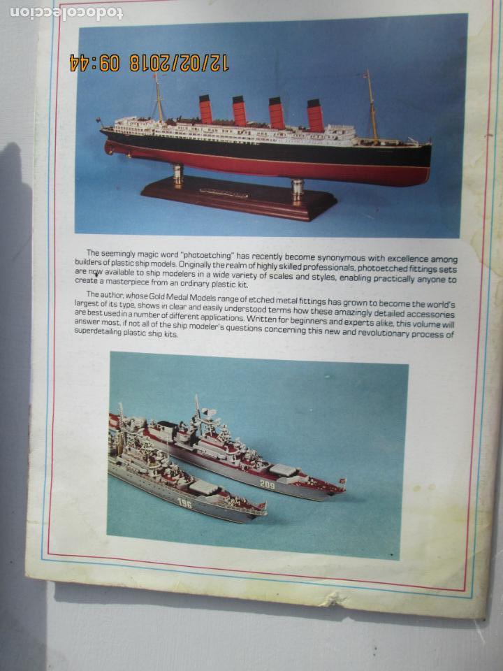 Militaria: PHOTOETCHING FOR DE PLASTIC SHIP MODELER -Loren Perry; 1st edition (1987) - Foto 2 - 142910030