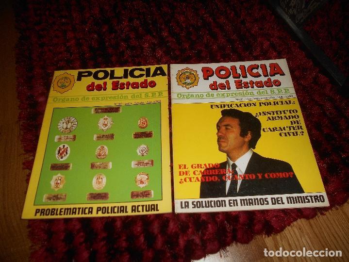 REVISTA POLICÍA DEL ESTADO Nº 00 Y 01 POLICÍA ESPAÑOLA AÑO 1983 RARAS (Militar - Revistas y Periódicos Militares)