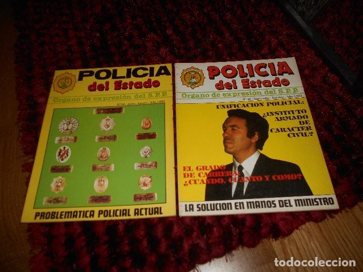 Militaria: REVISTA POLICÍA DEL ESTADO Nº 00 Y 01 POLICÍA ESPAÑOLA AÑO 1983 RARAS - Foto 2 - 142997382