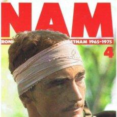 Militaria: NAM. CRÓNICA DE LA GUERRA DE VIETNAM 1965-1975 FASCÍCULO Nº 4. Lote 143353582
