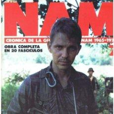 Militaria: NAM. CRÓNICA DE LA GUERRA DE VIETNAM 1965-1975 FASCÍCULO Nº 7. Lote 143353674