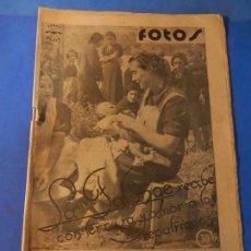 Militaria: FOTOS. SEMANARIO GRÁFICO DE REPORTAJES. Nº 29. 11 SEPTIEMBRE 1937.. Lote 143961538