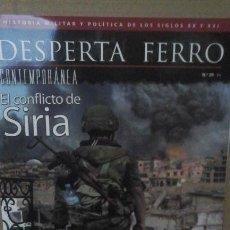 Militaria: DFC 29 (PORTADA:EL CONFLICTO DE SIRIA) LEER DESCRIPCION. Lote 178759562