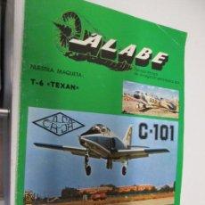 Militaria: ÁLABE Nº 4 REVISTA DE DIVULGACIÓN AERONÁUTICA 1979 . Lote 144570370