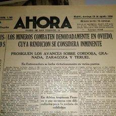 Militaria: REVISTA AHORA GUERRA CIVIL 1936. Lote 144657758