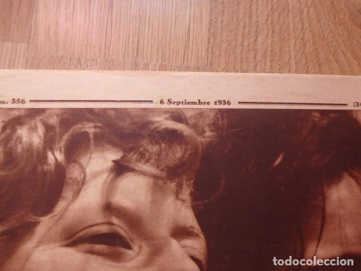 Militaria: (JX-181267)Tres revistas Crónica , Guerra Civil , Agosto , Septiembre 1936 . - Foto 3 - 145113590