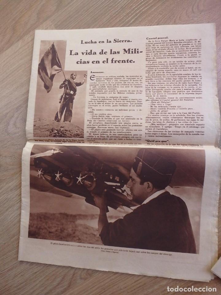 Militaria: (JX-181267)Tres revistas Crónica , Guerra Civil , Agosto , Septiembre 1936 . - Foto 6 - 145113590