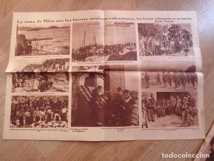 Militaria: (JX-181267)Tres revistas Crónica , Guerra Civil , Agosto , Septiembre 1936 . - Foto 7 - 145113590