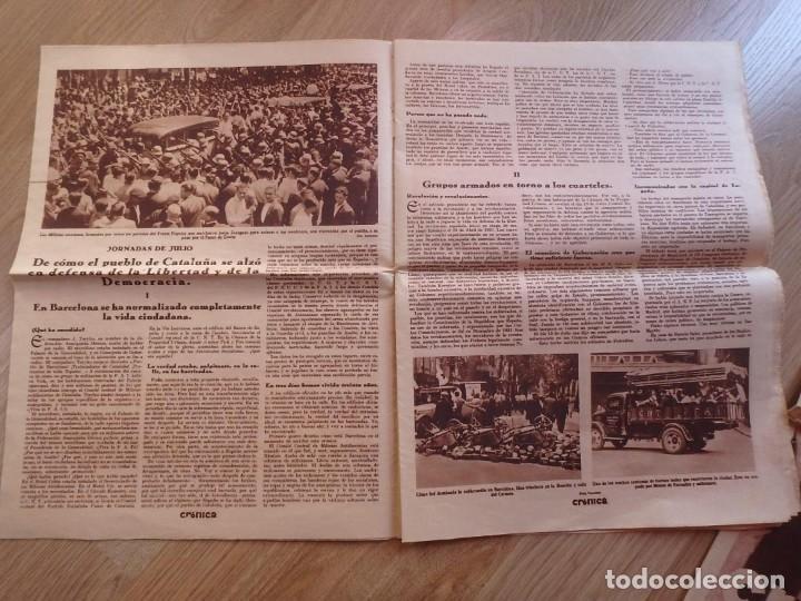 Militaria: (JX-181267)Tres revistas Crónica , Guerra Civil , Agosto , Septiembre 1936 . - Foto 9 - 145113590