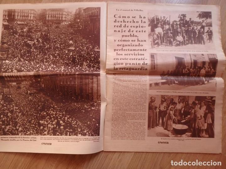 Militaria: (JX-181267)Tres revistas Crónica , Guerra Civil , Agosto , Septiembre 1936 . - Foto 10 - 145113590
