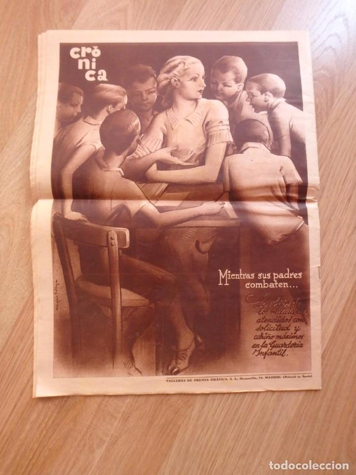 Militaria: (JX-181267)Tres revistas Crónica , Guerra Civil , Agosto , Septiembre 1936 . - Foto 19 - 145113590
