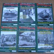 Militaria: LOTE DE REVISTAS ESPAÑOLAS HISTORIA MILITAR Y LAS TAPAS .. Lote 145288318