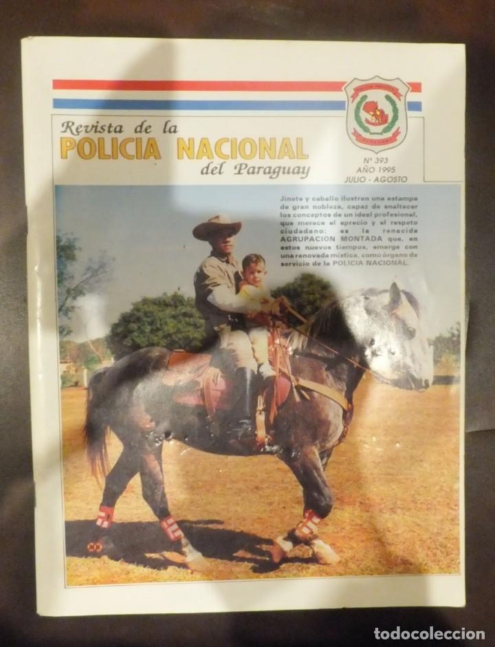 PARAGUAY - REVISTA DE LA POLICIA NACIONAL (Militar - Revistas y Periódicos Militares)