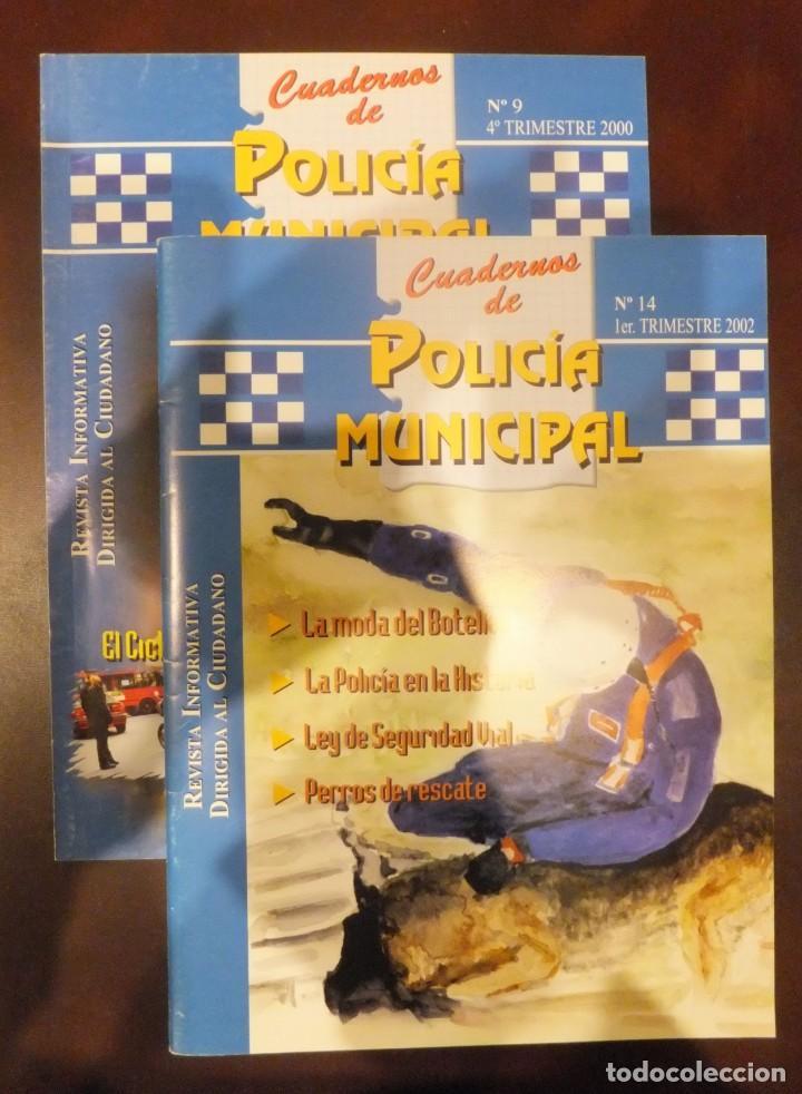 CUADERNOS DE POLICIA MUNICIPAL (Militar - Revistas y Periódicos Militares)