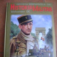 Militaria: HISTORIA MILITAR REVISTAS , TOMO IX ENCUADERNADO .. Lote 145419158