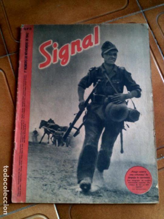REVISTA SIGNAL N,21 NOVIEMBRE DE 1941 (Militar - Revistas y Periódicos Militares)