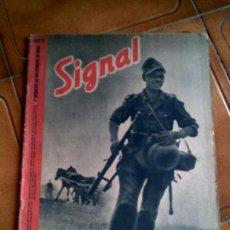 Militaria: REVISTA SIGNAL N,21 NOVIEMBRE DE 1941. Lote 146403754